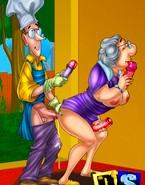 Crazy cartoon toying show