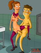 Naughty nymphos from Bob's Burgers cartoon