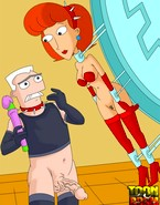 Red-haired MILF from Phineas and Ferb porn giving and receiving XXX punishments