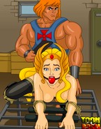 He-Man and She-Ra getting their portions of porn discipline in the dungeon