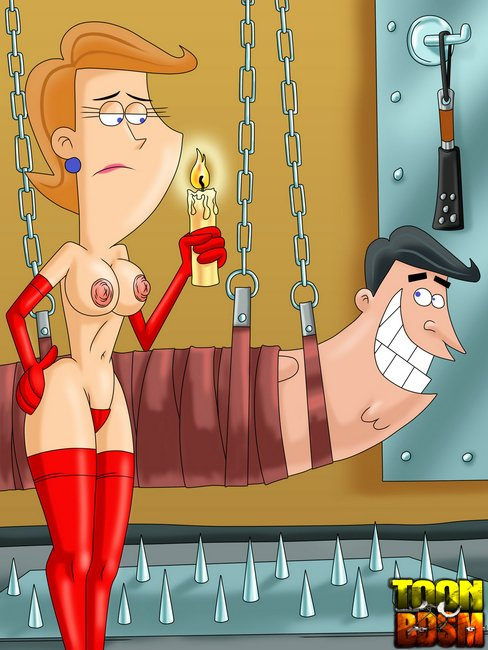 From The Fairly Oddparents Porn - Mr. and Mrs. Turner from Fairly OddParents porn get it off on being  electroshocked Gallery