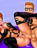 Sex-addicted cougars from famous cartoons
