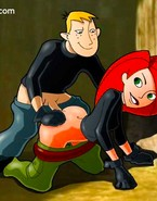 Kim Possible get fucked in every hole, her tired pussy is so wet...Chek it!