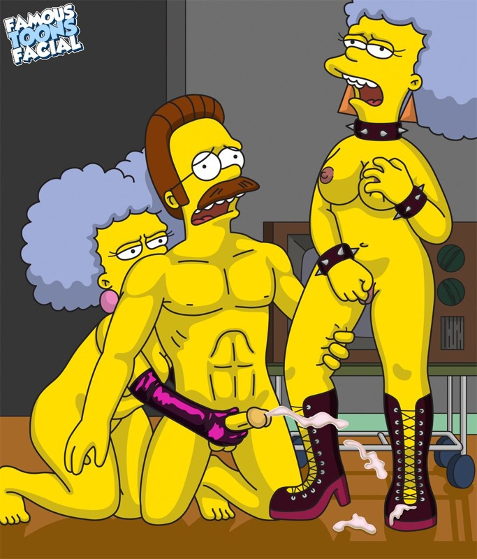 Simpsons gay characters