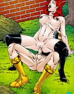 Cyclops Sucks Jean Grey's Pussy