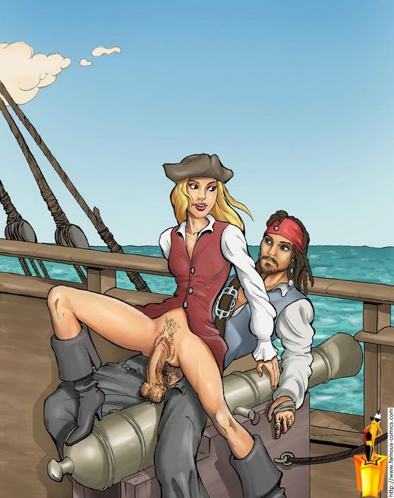 анальные пираты карибского моря - 11