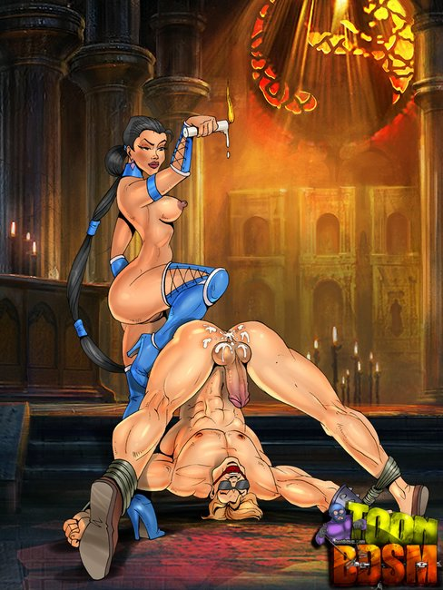 cartoon porno mortal kombat