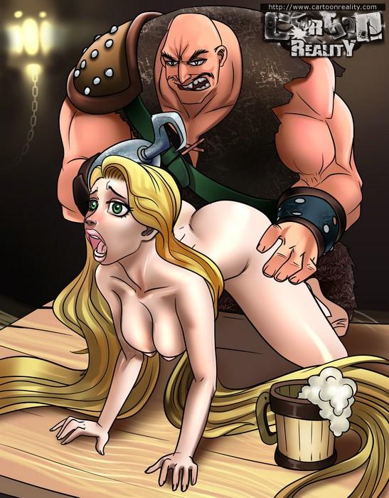 Cartoon Tangled Rapunzel Naked Sex