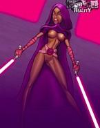 Super-sexy intergalactic fuck stars of Star Wars