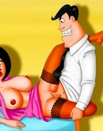 Jane Jetson swallowing her hubby's cock