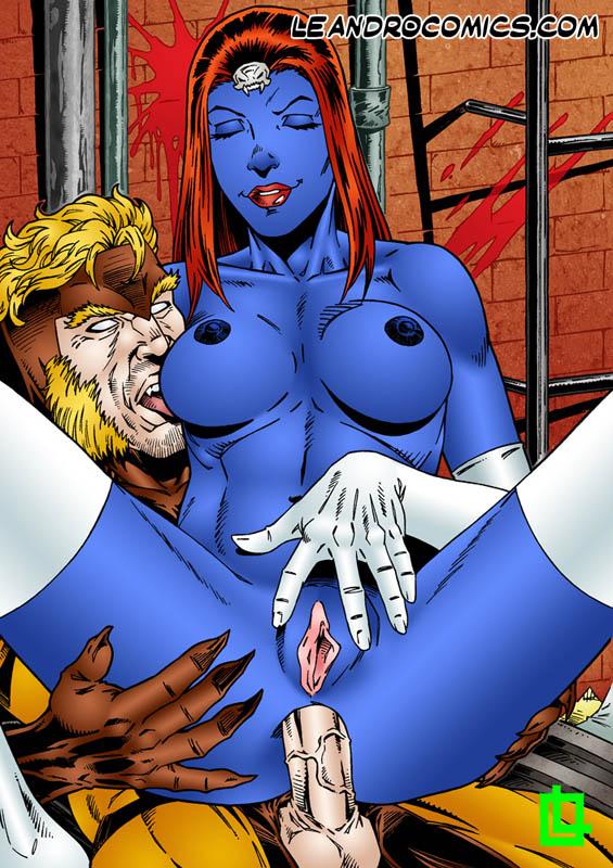 X-men mystique porn