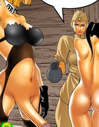 Amanda's dream, where she is a nazi futa and is being fucked by Nicole