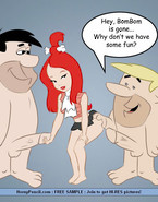 Stone Age Cartoon Chicks