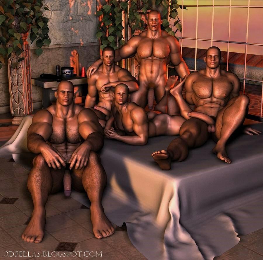 3D Gay Comic Porn 3d gay art gallery