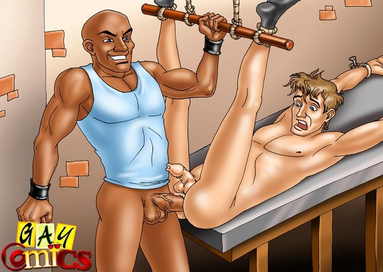 BDSM cartoons, Bondage cartoons, BDSM toons @ My BDSM Cartoons