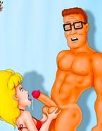 Big-boobed toon babes love big cocks